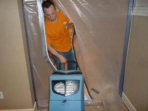 Vapor Barrier For Mold Removal